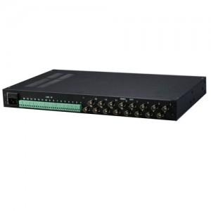 16-й канальный активный блок приема для 19″ стойки AVT-16RX463I (DeLog Compact 16 в slim корпусе 1U 19″)