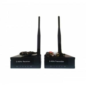 Беспроводной комплект передатчик + приёмник WT2.4-1000+WR2.4/1