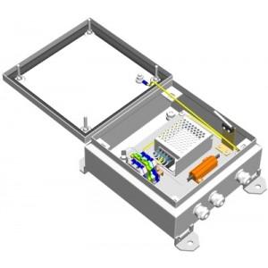 Блок питания уличный БПУ-1-220VAC-12VDC/2,5А