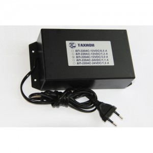 Блок питания уличный БПУ-1-220VAC-12VDC/1.5А