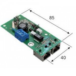 Инжектор одноканальный PoE PSE-PoE. (10-30) DC/48DC-10VA