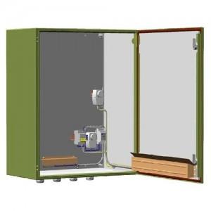 Шкаф монтажный с обогревом ТШ-2