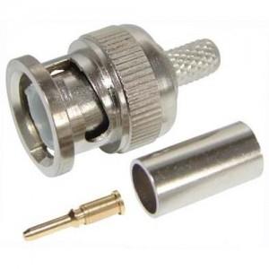 Разъем под коаксиальный кабель BNC RG 59 (обжимной)