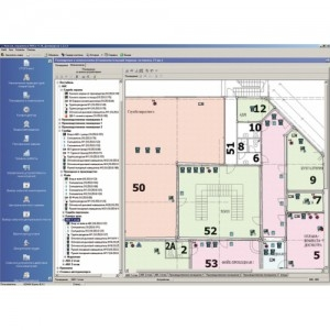 Модуль «Мониторинг», три рабочих места PERCo-SM08