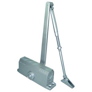Доводчик дверной,серебро Е-602D