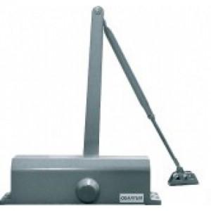 Доводчик дверной,серебряный QM-D740