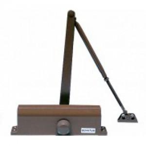 Доводчик дверной,коричневый QM-D740