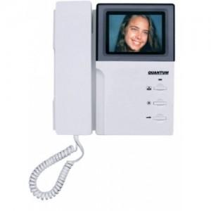 Монитор видеодомофона цветной с трубкой QM-4HPC K EXEL