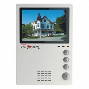 Монитор видеодомофона цветной с функцией «свободные руки »  PVD-405C