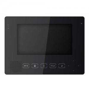 Монитор видеодомофона цветной с функцией «свободные руки » PVD-705C черный