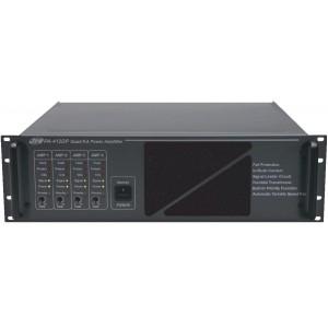 Усилитель мощности 4-х канальный 4х120 Вт, 100 В PA-412DP