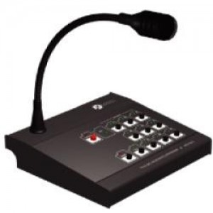 Пульт микрофонный с селектором на 10 зон МЕТА 8515