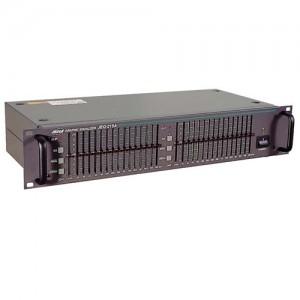 Эквалайзер графический двухканальный 15-ти полосный JEQ-215A