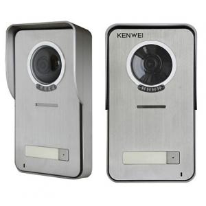 Видеопанель вызывная цветная KW-S201C-1B с козырьком