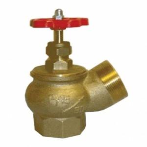 Вентиль КПЛ 65-1 угловой латунь (муфта-цапка)