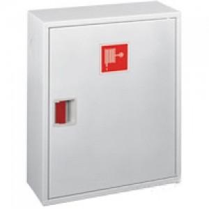 Шкаф пожарный без стекла белый (левый) ПК-310Н
