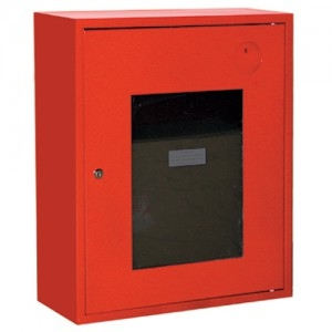 Шкаф пожарный со стеклом красный (правый) ПК-310Н