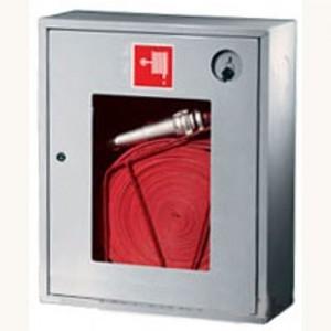Шкаф пожарный со стеклом белый (правый) ПК-310Н