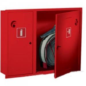 Шкаф пожарный без стекла красный ПК-315В