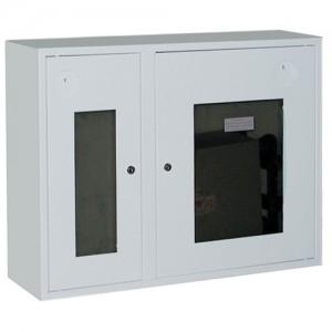 Шкаф пожарный со стеклом белый ПК-315Н