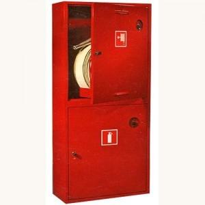 Шкаф пожарный без стекла красный ПК-320Н