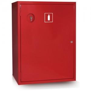 Шкаф пожарный без стекла красный (левый) ШПО-112