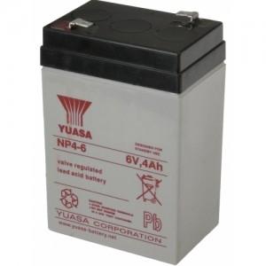Аккумулятор для фонаря ФОС-3, 6 В, 4 Ач