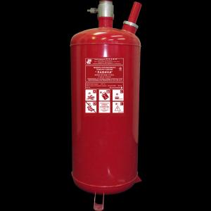 Модуль порошкового пожаротушения Лавина МПП-100-10