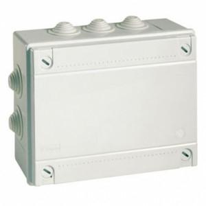 Коробка ответвительная с 12 кабельными вводами  240х190х90мм IP55 (54200)