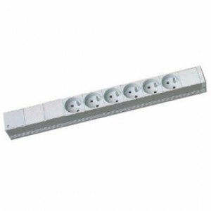Блок розеток WZ-LZ30-06-SU-000 (LZ-30/6SCHU)