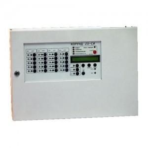 Прибор приемно-контрольный охранно-пожарный управления Корунд-20СИ (исп.01) (10 шлейфов)