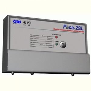 Прибор приемно-контрольный охранно-пожарный пусковой взрывозащищенный Роса-2SL ППКОПП-1П-Ex (12 В)