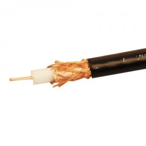 Кабель коаксиальный радиочастотный  РК 75-4,8-316 (RG 6/U solid)