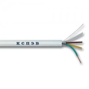Кабель для монтажа систем сигнализации КСПЭВ 4х0,4
