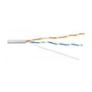 Кабель для монтажа систем сигнализации КСПВ 2х2х0,64(белый)