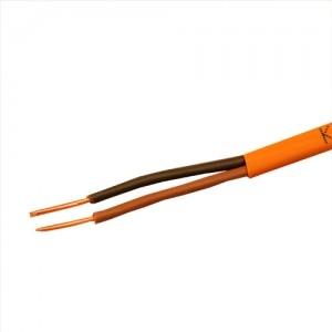 Кабель монтажный для ОПС и СОУЭ, не поддерживающий горения, огнестойкий, не экранированный КПСнг(А)-FRLS 1х2х1,0