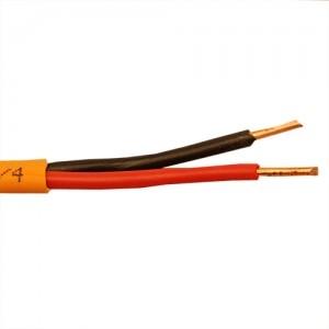 Кабель монтажный для ОПС и СОУЭ, не поддерживающий горения, огнестойкий, не экранированный КПСнг(А)-FRLS 1х2х2,5