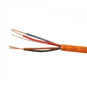 Кабель монтажный для ОПС и СОУЭ, не поддерживающий горения, огнестойкий, не экранированный КПСЭнг(А)-FRLS 2х2х0,35