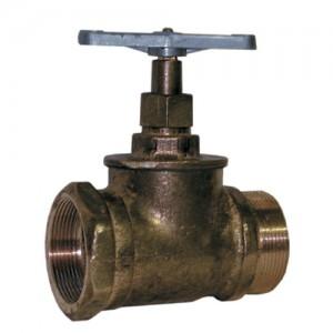 Вентиль латуный Вентиль КПЛП50-1 (муфта-цапка)