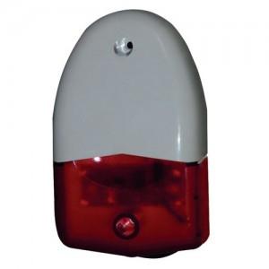 Оповещатель охранно-пожарный свето-звуковой Феникс-С (красный) (ПКИ-СП-12)