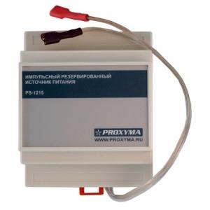 Блок питания 12В 1.5А на DIN-рейку PS-1215