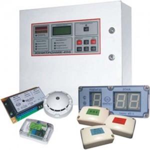 Прибор приемно-контрольный охранно-пожарный Unitronic 496