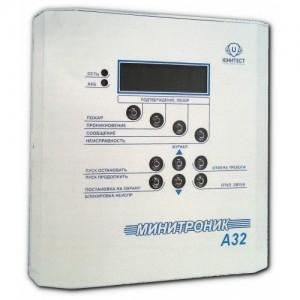 Прибор адресный приемно-контрольный охранно-пожарный и управления Минитроник А32 (ППКОПУ 03041-1-2)