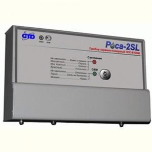 Прибор приемно-контрольный охранно-пожарный пусковой Роса-2SL ППКОПП-4П (12 В)