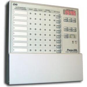 Пульт сигнализации, четыре направления по 2-х проводной адресной линии Роса-2SL ПС-4