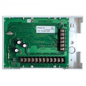 Контроллер шлейфов сигнализации сетевой СКШС-01, корпус IP 20