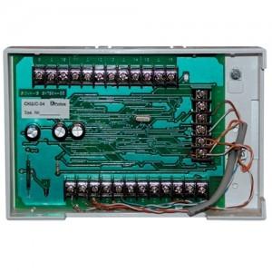 Контроллер для приема тревожных сигналов от охранных извещателей с нормально-замкнутыми контактами сетевой СКШС-04, корпус IP 20