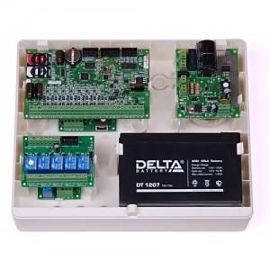 Корпус пластиковый специализированный для объектового оборудования Корпус «Контакт» под АКБ 7 Ач