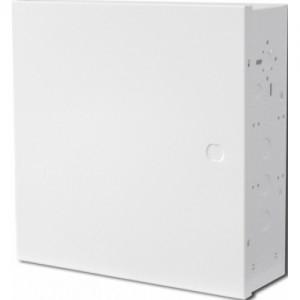 Корпус металлический универсальный под объектовые приборы, белый, 292х290х92 мм