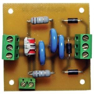 Блок защиты от скачков напряжения в цепях переменного напряжения Альбатрос-24/70 AC